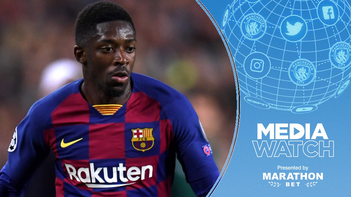 Media Watch: City linked with Barca forward?