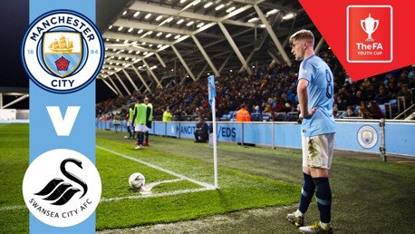 FA Youth Cup live on Man City For TV app