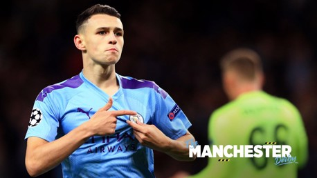 Foden changing dad's derby loyalties