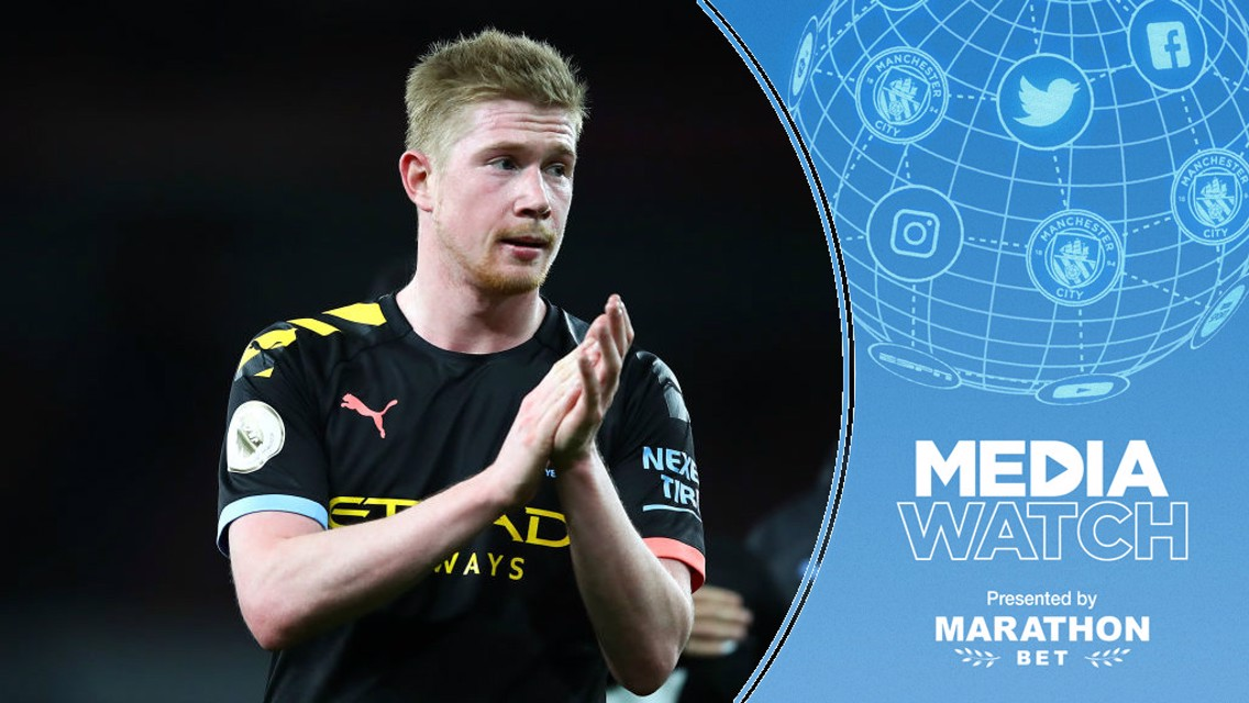 Media Watch: De Bruyne lauded as world's best