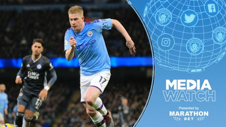 Media Watch: De Bruyne tipped for top award