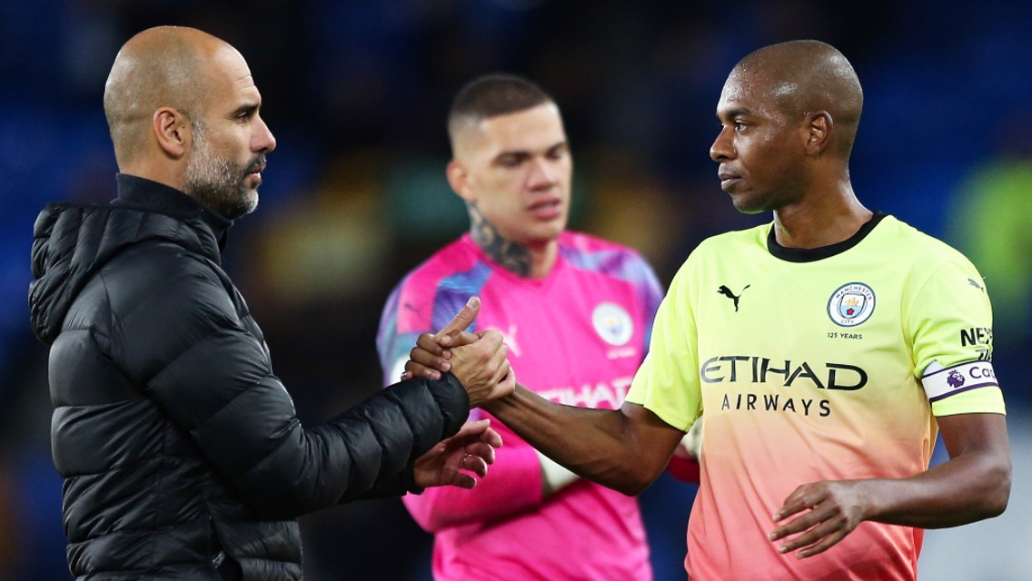 Fernandinho: Centre-back success down to Guardiola