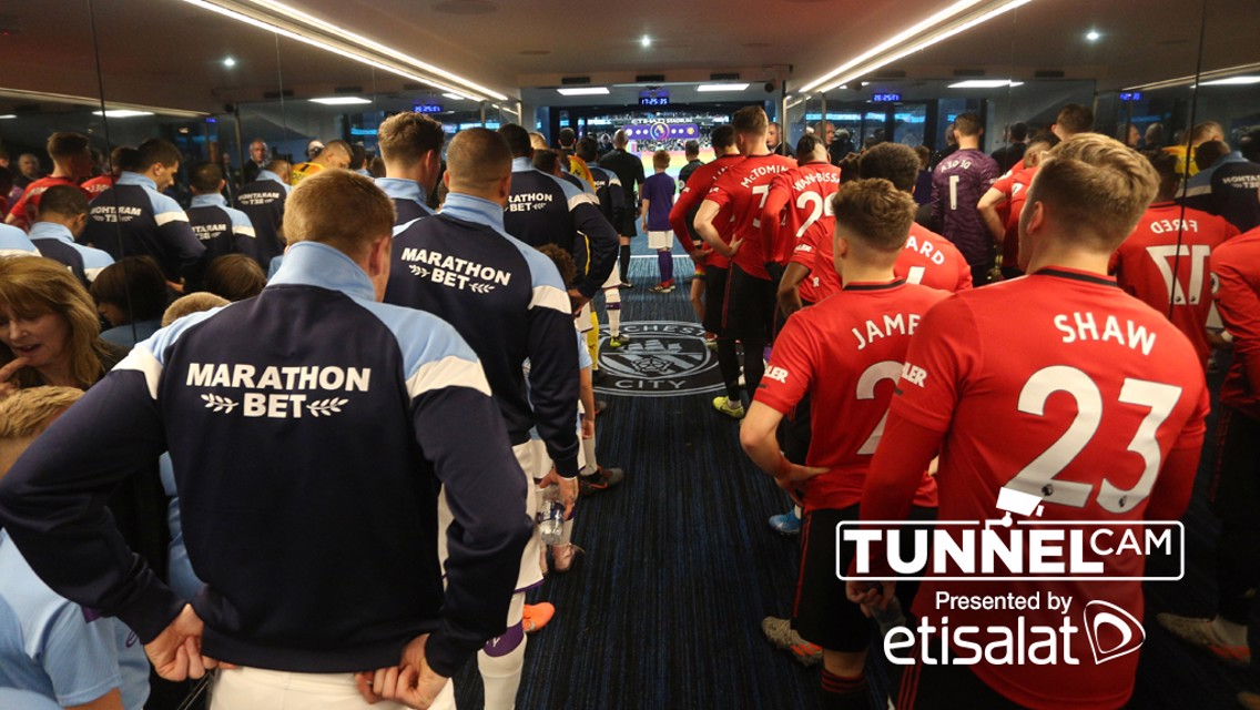 Manchester Derby: Tunnel Cam