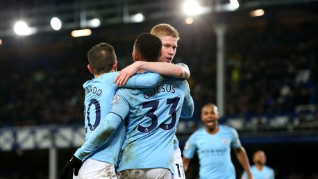 City go top after hard-fought win over Toffees