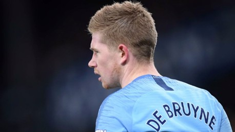 BELGIAN BLUE: Kevin De Bruyne previews Sunday's Premier League clash against Chelsea...