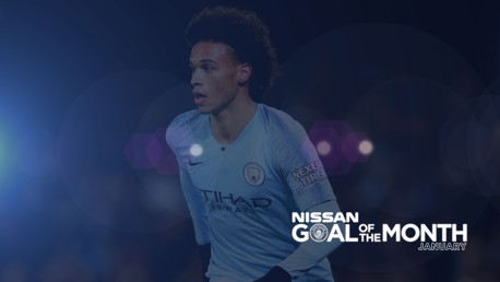 Nissan Goal of the Month: January!