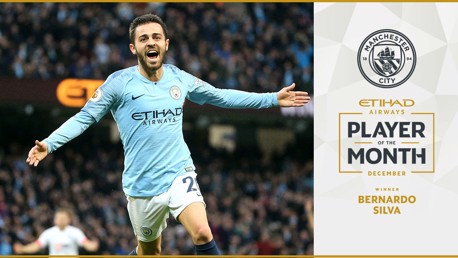 Etihad POTM for December: Bernardo Silva