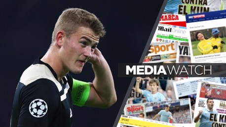 Media Watch: City 'main bidder' for Ajax starlet?