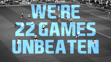 CITY V NEWCASTLE: Our undefeated streak.