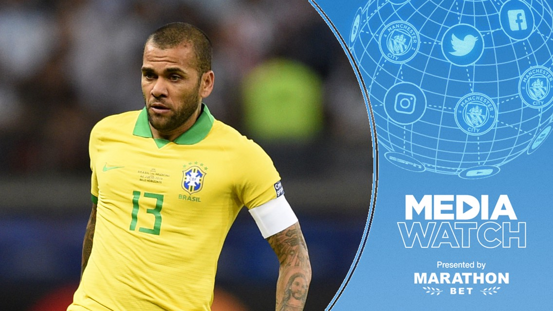 Media Watch: City face competition for Alves?