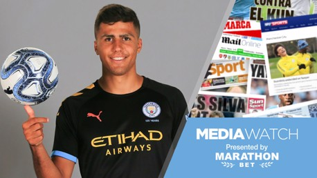 Media: 'Rodri stats will have City fans drooling'