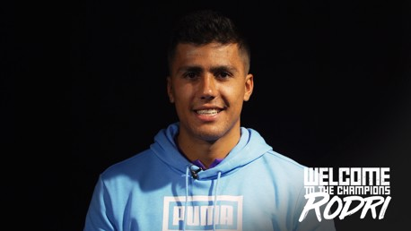 GETTING TO KNOW: Find out more about City's new signing, Rodri