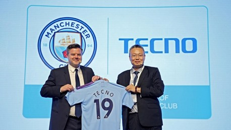 City extend global partnership with TECNO Mobile