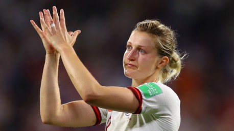 White's pride for 'courageous' Lionesses