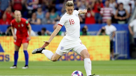 White strikes again but Lionesses bow out