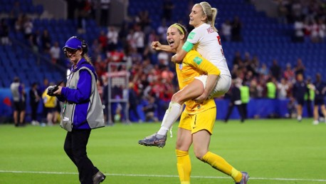 World Cup Daily: City duo react to last eight win