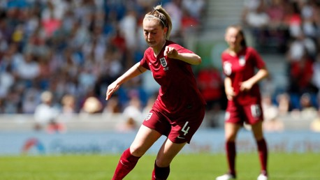 ENGLAND: Keira Walsh discusses playing international football for the Lionesses
