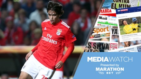 Media Watch: City step up chase for Benfica ace?