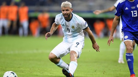 Copa America: Aguero's Argentina cling on