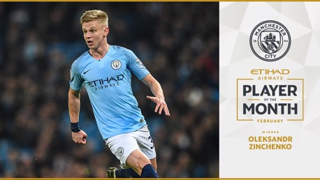 Zinchenko, Sterling & Aguero up for Etihad vote