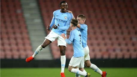 Young Blues impress with victory at Everton