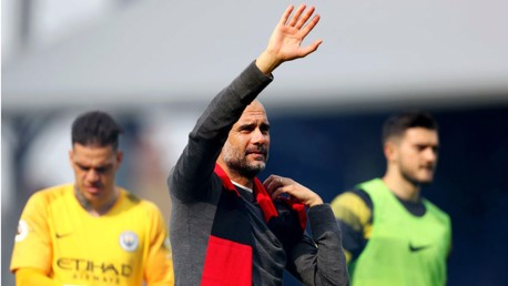 Guardiola hails City's positive mind-set