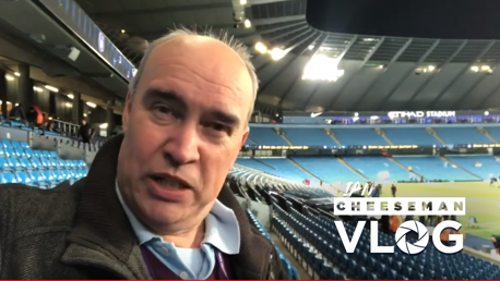 City v Leicester: Cheeseman vlog