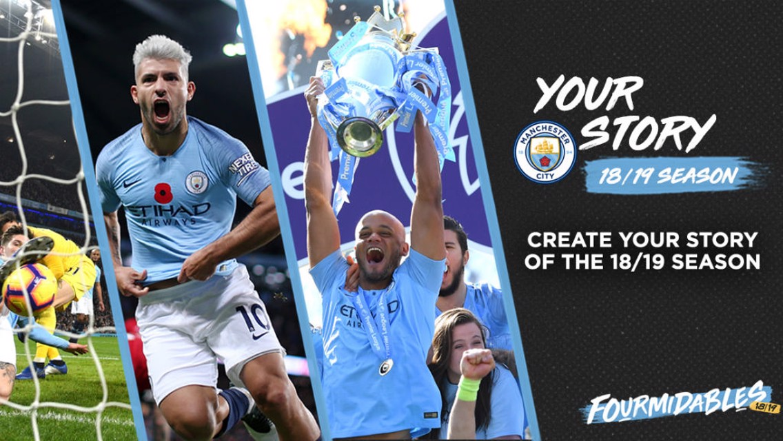 Create your personalised 2018-19 season video!