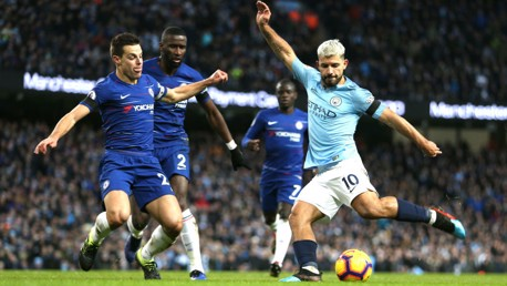 Chelsea in Aguero's sights once again