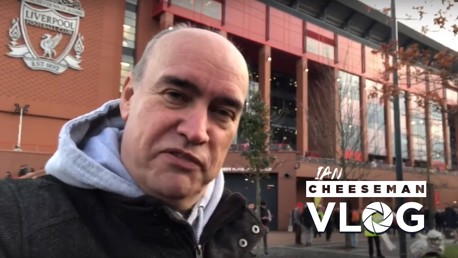 MATCHDAY VLOG: Ian Cheeseman reports from Anfield.