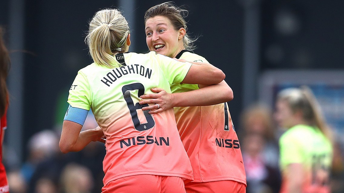 White relishing thrilling title race