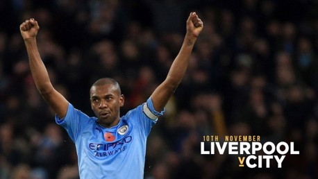 'We're going to Anfield to win' says Fernandinho