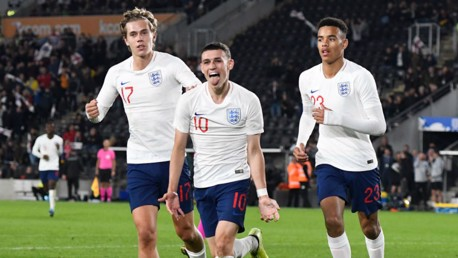 Foden on the mark for England Under-21s