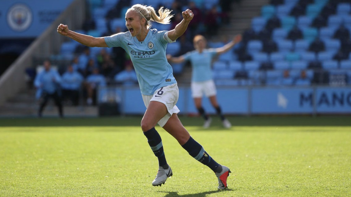 Houghton and Kompany goals up for award