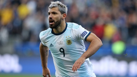 Aguero closes in on Argentina milestone