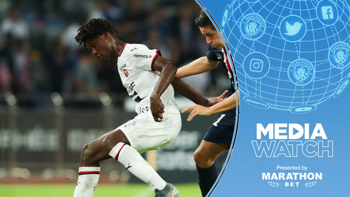 Media Watch: 'City join race for Rennes wonderkid'