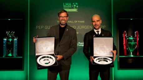 Pep Guardiola inducted into LMA Hall of Fame