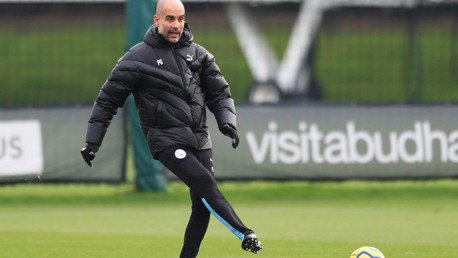 Training: Thrills, skills... and some Pep magic!