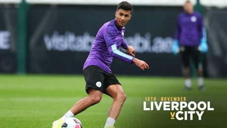 Rodri back as City make six changes for Liverpool