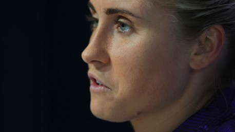 BIG WEEK: Steph Houghton has addressed the media ahead of Sunday's game at home to West Ham