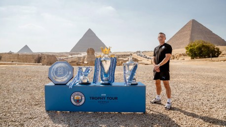 TROPHY TOUR: We've reached the halfway point in our global Trophy Tour.