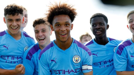 City Under-18s power to victory at Stoke