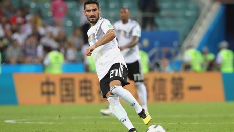 Gundogan scores twice as 10-man Germany ease home