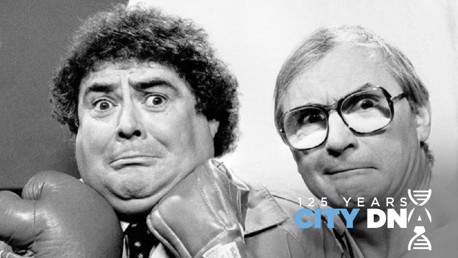 City DNA #22: Eddie Large - the lucky mascot?