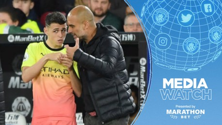 Media: Foden - I learn from Guardiola every day