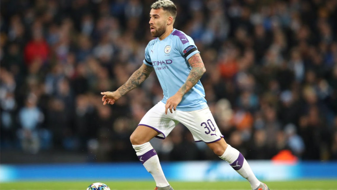 Otamendi back in business for City