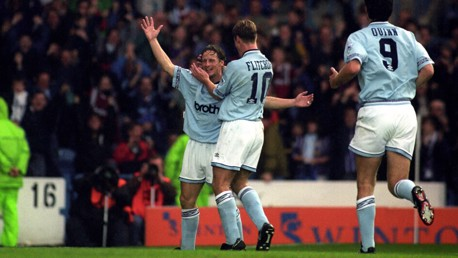 City 5-2 Spurs: Twenty-five years on