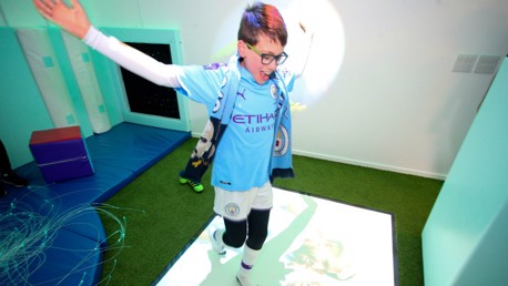 Sensory room opens at the Etihad Stadium