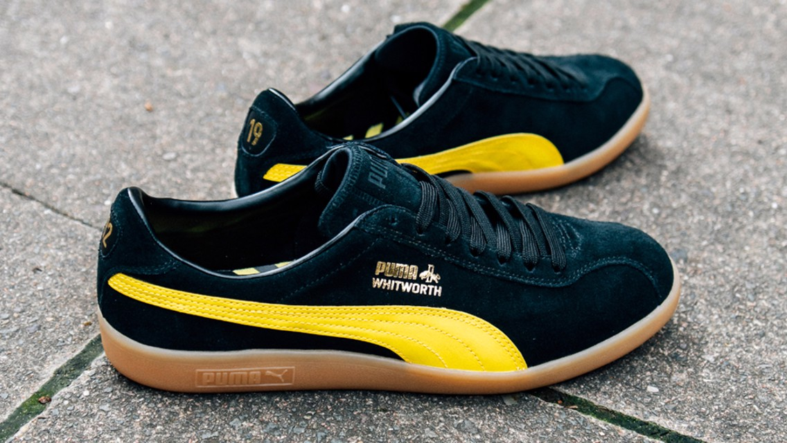 City and PUMA launch 125th anniversary trainers