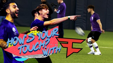 MENDY x FaZE CLAN: How's your touch?